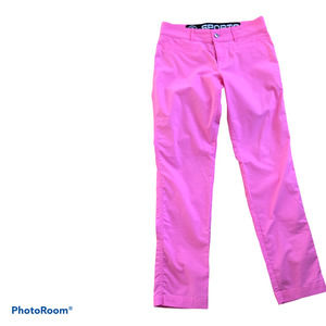 Bogner Gina Techno  Golf Pants Slim Fit Pink 6